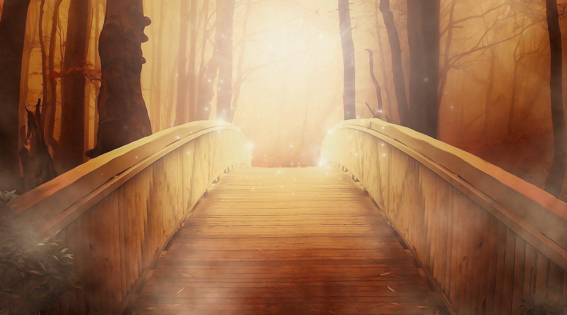 bridge to the next adventure