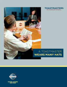 Cover of A Toastmasters Wears Many Hats Pamphlet